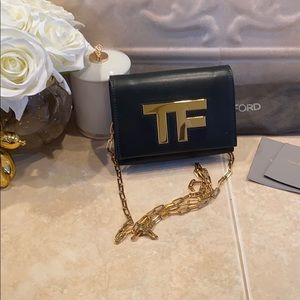 Tom Ford Clutch with removable Chain